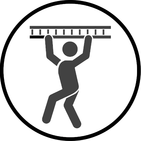 Sprossen-Hangeln